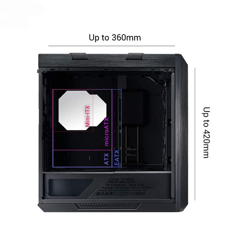 کیس کامپیوتر ایسوس مدل ROG Strix Helios