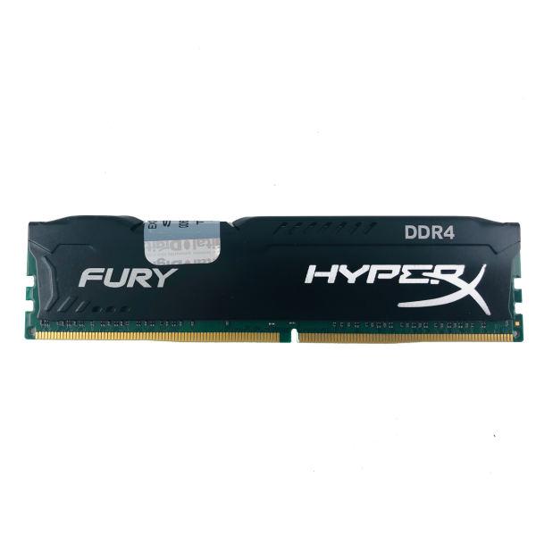 رم دسکتاپ DDR4 تک کاناله 2400 مگاهرتز CL15 کینگستون مدل HyperX Fury ظرفیت 16 گیگابایت