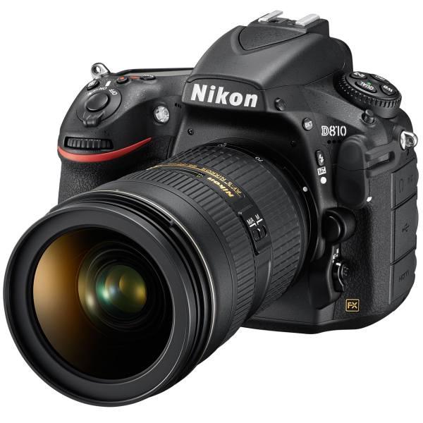 دوربین دیجیتال نیکون مدل D810 به همراه لنز 24-120 میلی متر F-4G VR